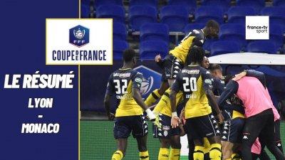 Coupe de France 2021 : Les meilleurs moments de Lyon - Monaco