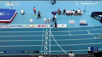 Torun 2021 : Khatir termine 5eme de sa demi-finale du 800m