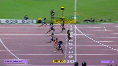 Doha 2019 : Orlann Ombissa-Dzangue éliminée dès les séries du 100m