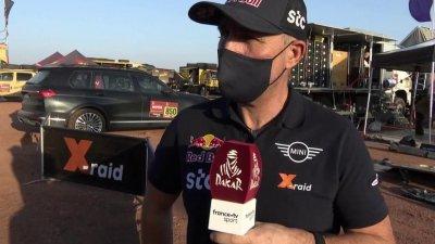 "Stéphane Peterhansel : ""Une vraie étape de Dakar"""