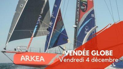 Journal du Vendée Globe : Vendredi 4 décembre