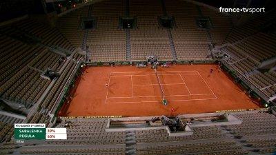 A. Sabalenka (BLR) [8] vs J. Pegula (USA) - 1er tour - Court Suzanne-Lenglen
