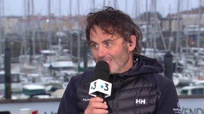 """""""Un scénario incroyable"""" témoigne Yannick Bestaven quelques heures après sa victoire"""