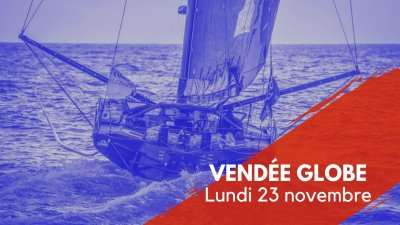 Journal du Vendée Globe 23 novembre