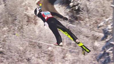 Oberstdorf 2021 – Combiné nordique hommes par équipes : les sauts français !