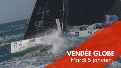 Journal du Vendée Globe : Mardi 5 janvier