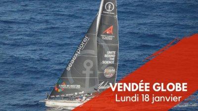 Journal du Vendée Globe : Lundi 18 décembre