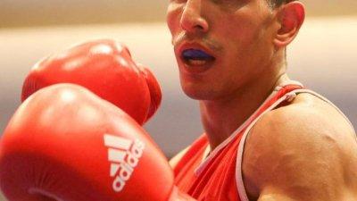 Interview du boxeur Wahid Hambli pour les JO