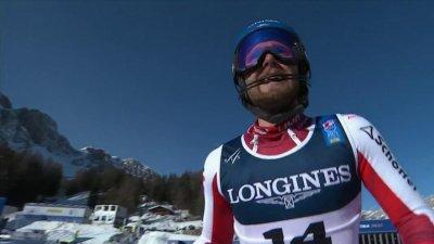 Cortina 2021 - Combiné hommes : Marco Schwarz s'impose de justesse devant Alexis Pinturault
