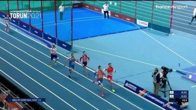 Torun 2021 : le Tchèque Pavel Maslak sorti dès les demi-finales du 400 m !