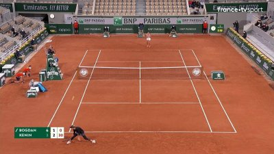 A. Bogdan (ROU) vs S. Kenin (USA) - 2e tour - Court Philippe Chatrier