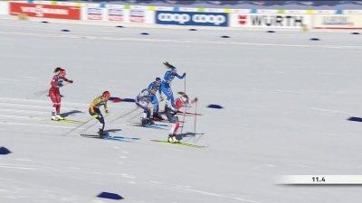 Oberstdorf 2021 : C'est le départ des finales du sprint classique féminin !