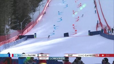 Cortina 2021 – Slalom parallèle hommes qualifications : Mathieu Faivre qualifié pour la finale