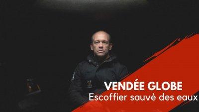 Vendée Globe : Kevin Escoffier sauvé des eaux