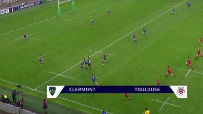 Champions Cup - 1/4 de finale : le résumé de Clermont vs Stade Toulousain