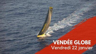 Journal du Vendée Globe : Vendredi 22 janvier