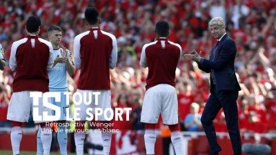 Arsène Wenger : en rouge et blanc