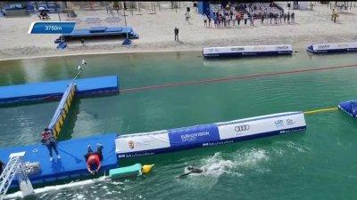 Relais 5km en eau libre : l'Italie devant la France avant le dernier relais