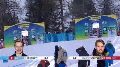 Cortina 2021 – Slalom parallèle hommes qualifications : Marco Schwarz éliminé