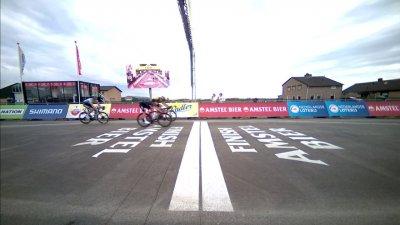 Amstel Gold Race messieurs : Wout Van Aert s'impose après des minutes d'incertitude devant Thomas Pidcock