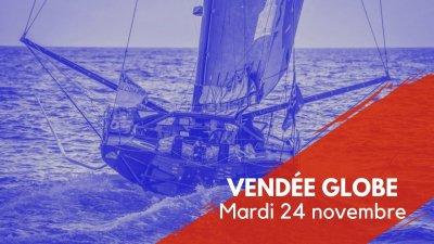 Journal du Vendée Globe : Mardi 24 novembre
