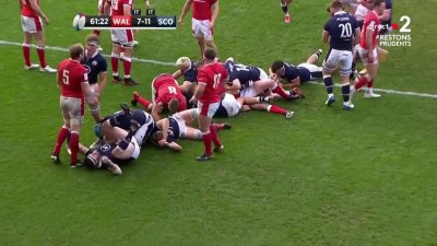 L'Écosse repasse devant grâce à un essai de McInally