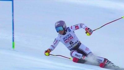 Cortina 2021 – Slalom géant dames : Tessa Worley termine à la 7e position