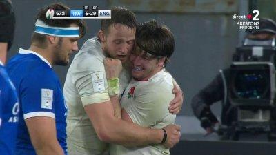 L'Angleterre inscrit un quatrième essai et prend le bonus offensif