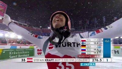 Oberstdorf 2021 – Saut à ski grand tremplin : Stefan Kraft champion du monde !