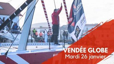 Journal du Vendée Globe : Mardi 26 janvier