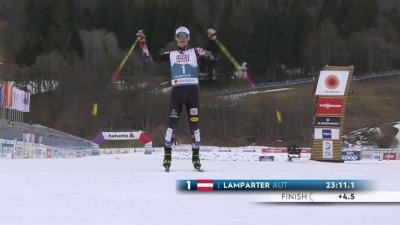 Oberstdorf 2021 – Combiné nordique hommes : Lamparter champion du monde !