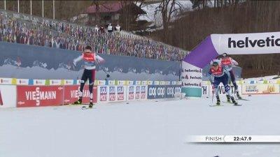 Oberstdorf 2021 - Combiné nordique hommes : Magnus Riiber s'impose au sprint !