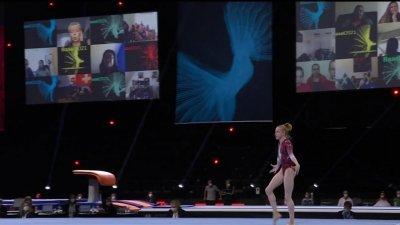 Championnats d'Europe de gymnastique artistique : la prestation finale pour le titre de Viktoria Listunova