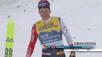 Oberstdorf 2021 – Relais ski de fond hommes (4 x 10 km) : première médaille française ! La Norvège de Klaebo s'impose