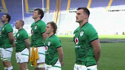 Les hymnes d'Italie - Irlande