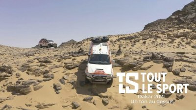 Dakar 2021 : Un ton au dessus