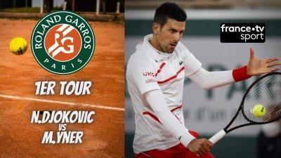 Le résumé du match Djokovic vs Ymer