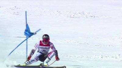 Cortina 2021 – Slalom géant : Démarrage convaincant pour Mathieu Faivre