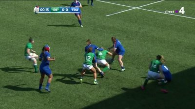 6 Nations féminin - 3e journée : le résumé de Irlande vs France