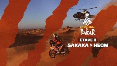 Le journal du Dakar de l'étape 8