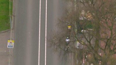 Amstel Gold Race messieurs : Wout Van Aert s'impose provisoirement après des minutes d'incertitude devant Thomas Pidcock