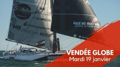 Journal du Vendée Globe : Mardi 19 janvier