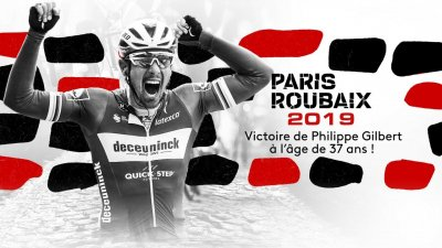 Paris-Roubaix 2019 : revivez la victoire de Philippe Gilbert (Deceuninck-Quick Step)