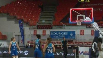 Magali Mendy marque un panier au buzzer et confirme la domination de Bourges