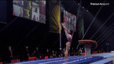 Championnats d'Europe de gymnastique artistique : Sheyen Petit impeccable au saut de cheval