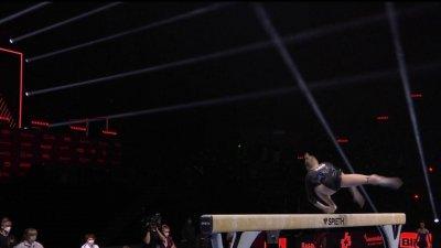 Championnats d'Europe de gymnastique artistique : la nouvelle chute de Melnikova à la poutre