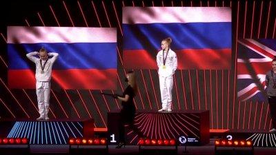 Championnats d'Europe de gymnastique artistique : le podium des finales Femmes