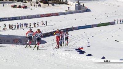 Oberstdorf 2021 : Klaebo fait parler son expérience en demi-finale