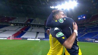 Coupe de France : Monaco bat Lyon et file dans le dernier carré !