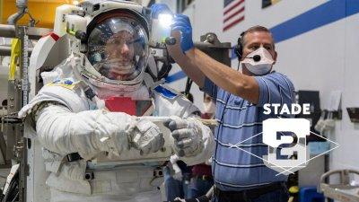 Thomas Pesquet, sportif de l'espace